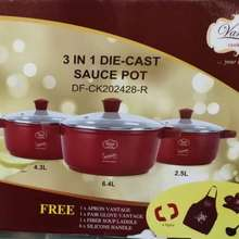 vantage Periuk Sign Dato Siti (3 In 1 Die-Cast Sauce Pot)