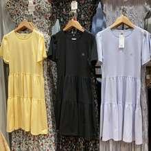 Uniqlo Dress Katun Lembut Gathered