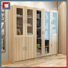 [Explosion Style] Solid Wood File Cabinet Office Bookcase Bookcase With Glass Door Bookcase Storage Bookcase Storage Cabinet Data Filing Cabinet