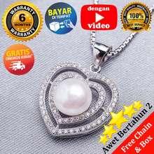 Pearl & Pearl WGP 086 - Kalung Mutiara Asli - Putih