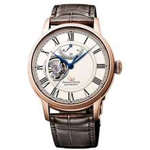 ORIENT Star Rehh0003S Man Automatic Open Heart Leather Strap Watch Re-Hh0003S