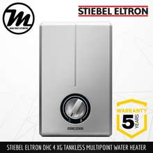 Stiebel Eltron [Germany'S No 1] Dhc 4/6/8 Xg Tankless Multipoint Instantaneous Water Heater