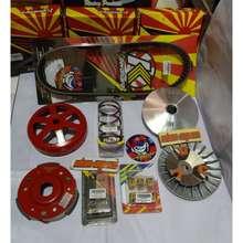 Kawahara Paketan Set Van Belt Mangkok Kampas Ganda Rumah Pully Roller Kampas Ganda Per Cvt N-Max Aerox Lexi