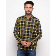 Emba Jeans Kemeja Man Shirt Murdo One - Kuning (Int:M)