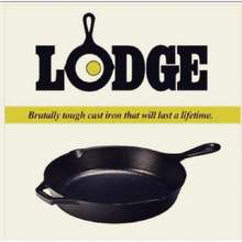 Lodge Cast Iron Pre-Seasoned Skillet (Made In Usa 🇺🇸)