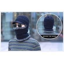 Ninja Topi Winter Kupluk Musim Dingin Masker Winter Topi Syal Bulu