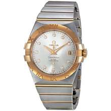 Omega Constellation Chronometer Automatic Silver Dial Watch 123.20.35.20.52.001