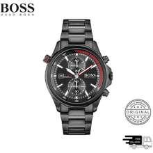 HUGO BOSS Boss Globetrotter Black Men'S Watch 1513825