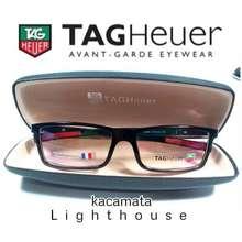 TAG Heuer frame kacamata urban hitam gloss merah d0fc20024b