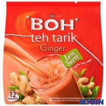 Boh Teh Tarik Instant Milk Tea Beverage With Ginger (26G X 12)