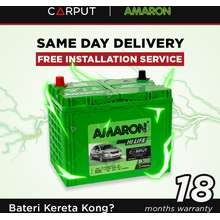 AMARON Battery NS70L NS70 Amaron Hi Life Car Battery for TOYOTA Camry KIA Optima HYUNDAI Elantra. Bateri Kereta FREE Delivery and Installation for Klang Valley and Johor Bahru Coverage Area ONLY! Maintenance Free Car Battery Bateri Kereta Kering Siap Hantar Pasang.