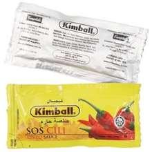 Kimball Sachet 9G Sauce Chilli Ketchup Tomato Cili Sos Travel Berniaga Paket Kecil Mudah Dibawak Penambah Perasa