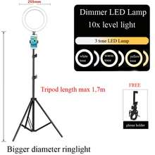 led Ready stock ringlight lampu