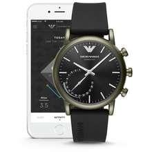 Armani Luigi Black Smart Watch Art3016