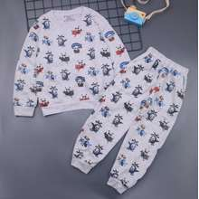 Tayo Setelan Jojo Size 7-8 Tahun - Piyama Kaos Anak Celana Panjang Baju Laki Cowok Baju Tidur Hero