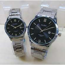 Jam Tangan Couple Alba Super Premium Tanggal Hari Aktif - Daftar ... 3a489d879e