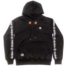 Skaters Sweater Hoodie Pita Hitam
