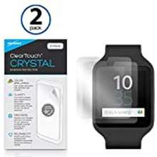 Sony Sony Smartwatch 3 Swr50 Screen Protector, Boxwave [Cleartouch Crystal (2-Pack)] Hd Film Skin - Shields From Scratches For Sony Smartwatch 3 Swr50