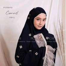 Sutra Mukenah Wanita Bordir Semi Mukena Elegant Baju Muslim Busana Muslimah Fashion Cewek Dewasa Alat Shalat Ramadhan