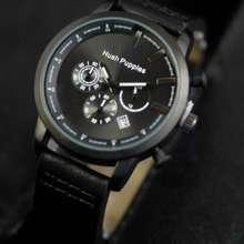 Hush Puppies jam tangan pria chrono active black 184d1a8f84