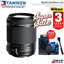 Tamron B018 18-200 F3.5-6.3 Di Ii Vc Nikon F And Canon Ef Eos Dslr Kitlens Alternative Mvp Camera