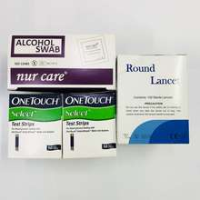 ONE TOUCH Select (50'S X 2) [Free Alcohol Swab 100'S + Round Lancet 100'S]