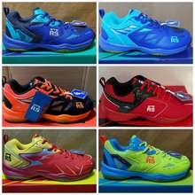 Reinforce Speed [Boleh Tukar Ukuran] Rs Jeffer Jf 704 705 706 707 708 709 710 714 Sepatu Badminton Original