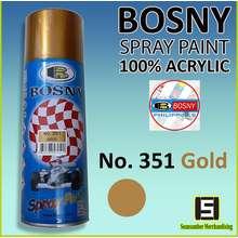 Bosny Metallic Spray Paint GOLD NO. 351