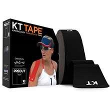 "KT Tape "" Original Cotton Kinesiology Tape- 150 ft Pre Cut 10"""" Strips"""