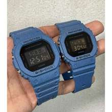 G-shock G Shock Couple Jeans Blue Petak Jam Tangan Lelaki Perempuan Free Box, Promosi Raya