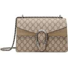 ae13d541cfa Gucci Beige Dionysus GG Supreme Shoulder BAG