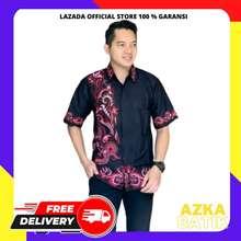 Azka Batik Pakaian Pria Model Kemeja Batik Pria Kemeja Batik Pekalongan  Baju Batik Cowok Baju Batik 111a16eb3b