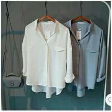 kedai_baju Kedai_baju Blouse Murah / Bangkok Import / Atasan Wanita Emma Putih