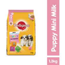 Pedigree PEDIGREE® Toy/Small Breed Puppy Milk Dry Dog Food (1.35kg)