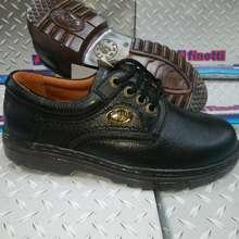 Finotti Sol Kaca, 93777, Sepatu Pantofel Tali, Sepatu Kulit, Pantofel Cowo
