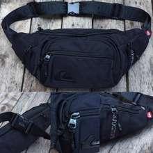 Quiksilver Kompek / Tas Pinggang Travel Luggage Black/Grey Original