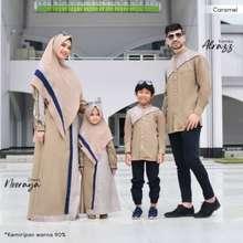 Mouza - Nooraya Dress Kids Set Khimar By / Sarimbit Gamis Dan Khimar Anak Terbaru