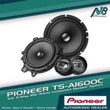 """Pioneer Ts-A1600C 6.5"""" 2-Way Component Speaker System."""