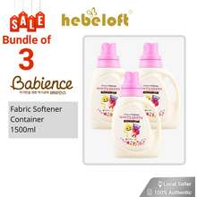 Babience [Free Git] Lg Pinkfong Antibacterial Fabric Softener Container 1500Ml X 3