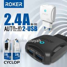 Smart charger rocker 2.4a fast charger ic