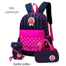 Barbie Tas Anak Perempuan Polka