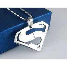 Superman Kalung Silver Man Of Steel