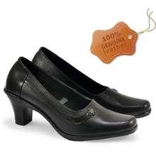 JK Collection Cibaduyut Online - Sepatu Formal Wanita Pantofel Kulit Premium Jms 212 By Bandung