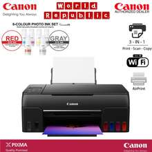 Canon Pixma G670 Easy Refillable Wireless All-In-One Ink Tank For High Volume Quality Photo Printing - Ciss Printer