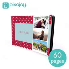 """Pixajoy Softcover 8.5"""" X 12"""" Landscape (60 Pages) Photo Book With Full Personalisation By Photobook [E-Voucher]"""