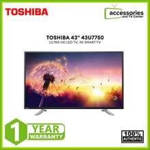 "Toshiba 43"" Ultra Hd Led Tv, 4K Smart Tv 43U7750"