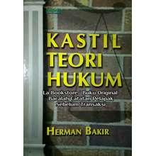 INDEKS Buku Kastil Teori Hukum - Herman Bakir