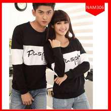 The Fashion Story FS - Sweater Couple Pusple / Baju Pasangan / Baju Kompak