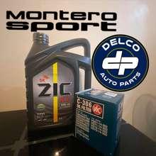 Zic Change Oil Bundle Mitsubishi Montero/Strada (2008-2015) Fully Synthetic X7 10W40 7L W/ Filter
