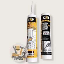 Bosny Acrylic Silicone Sealant Black, Brown, Clear